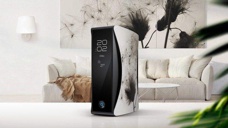 Unikátní design nového Smart Boxu, který se přizpůsobí vašemu interiéru. Zdroj: O2.