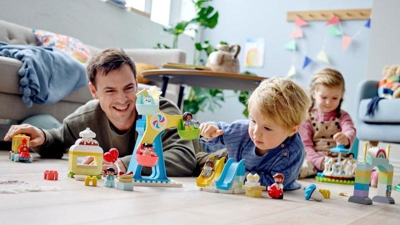 Nejlepší zábava pro malé i velké dobrodruhy. Zdroj: LEGO<sup>®</sup>.