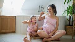 Zuby v těhotenství: Jak o ně pečovat, aby byly zdravé?