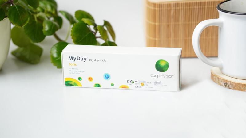 Torické MyDay čočky pro astigmatismus.