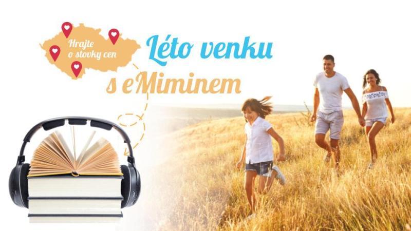 banner k letní soutěži, Audioteka
