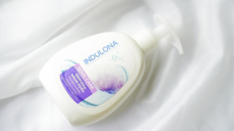 Tekuté mýdlo pro citlivé ruce od Indulony.