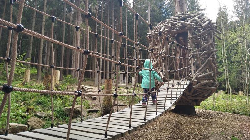 Šumava s dětmi